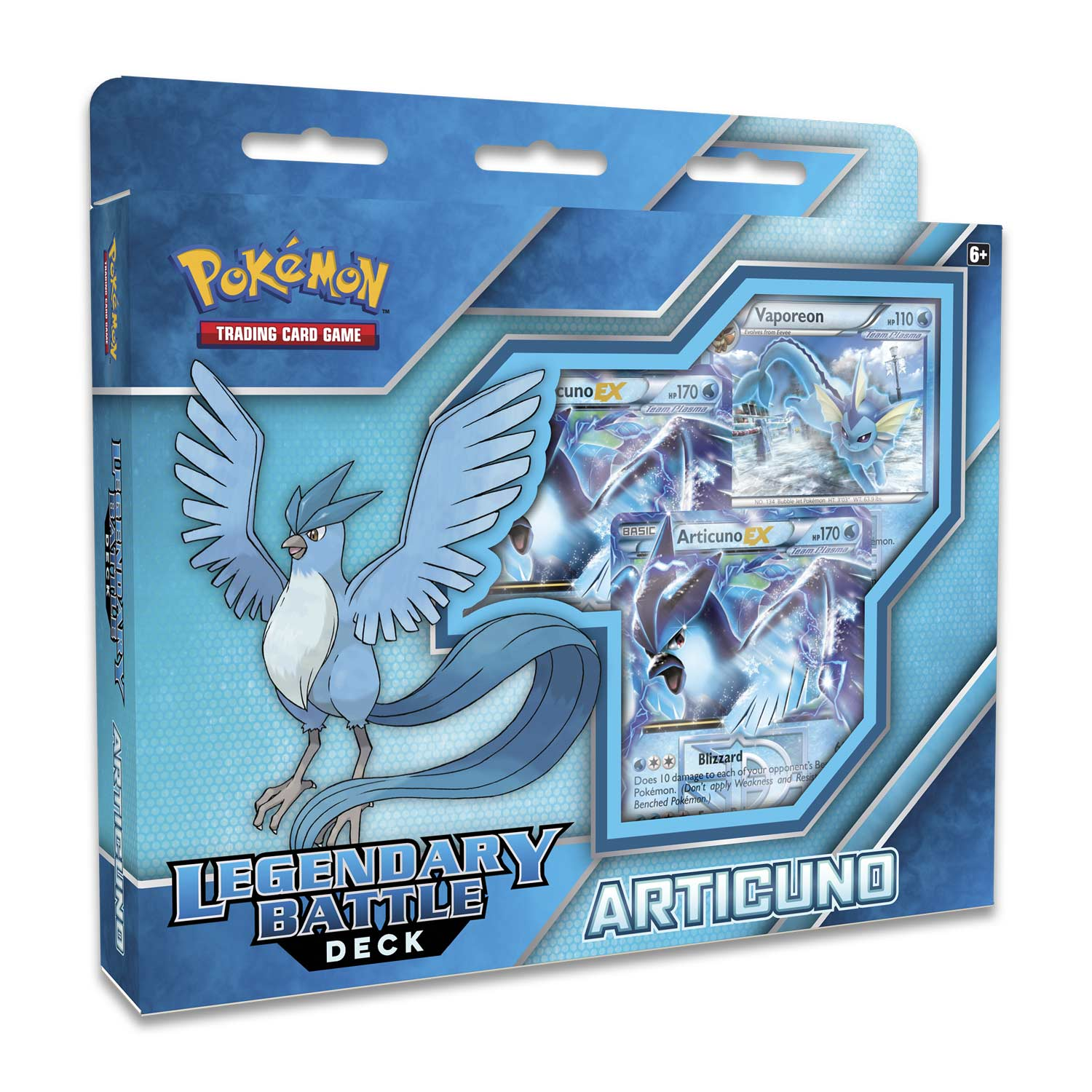 legendary battle deck articuno pokémon trading card game