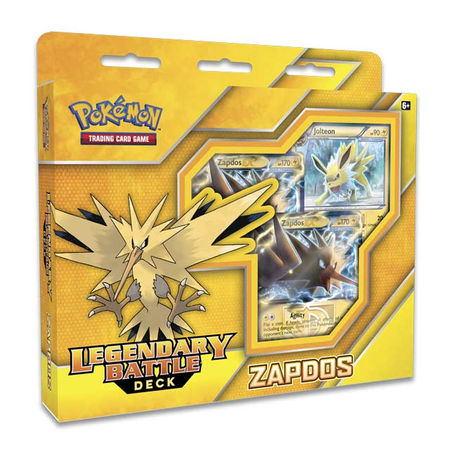 Image for Pokémon TCG: Legendary Battle Deck-Zapdos from Pokemon Center