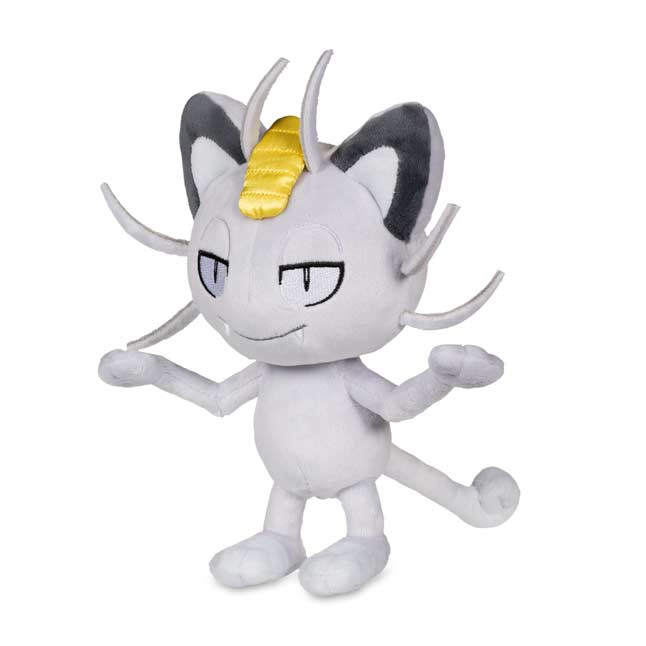 "Image for Alolan Meowth Poké Plush (Standard) - 7 1/2"" from Pokemon Center"