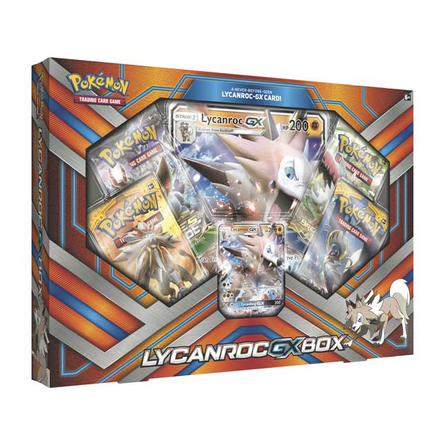 Image for Pokémon TCG: Lycanroc-GX Box from Pokemon Center