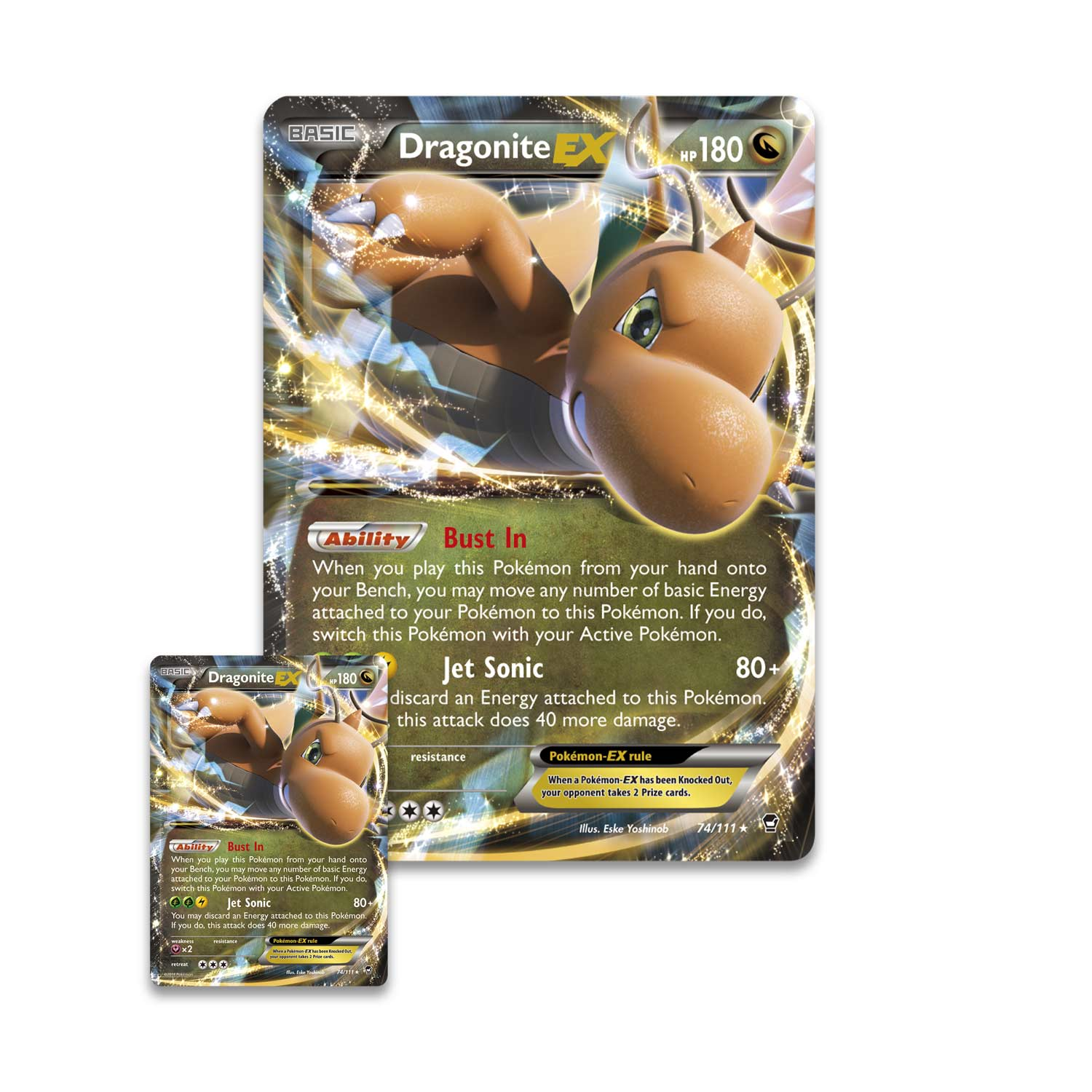Pokmon tcg dragonite ex box promo and oversize card pokmon 5307445734561825966330744573456182620553074457345618268804 magicingreecefo Image collections