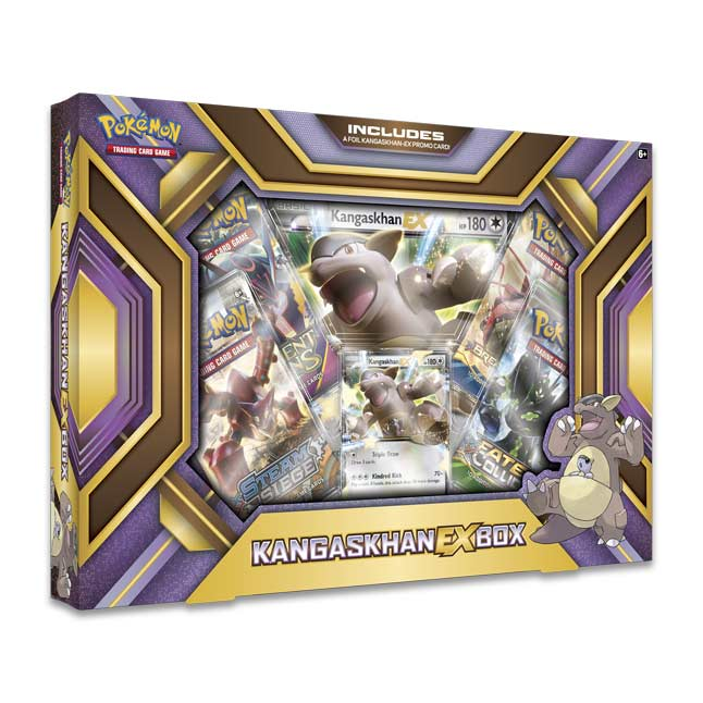Image for Pokémon TCG: Kangaskhan-EX Box from Pokemon Center