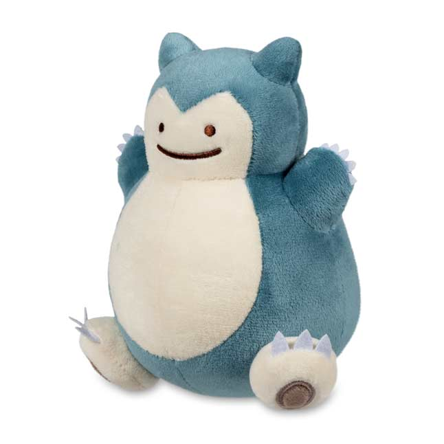 "Image for Ditto As Snorlax Poké Plush (Standard) - 6 1/4"" from Pokemon Center"