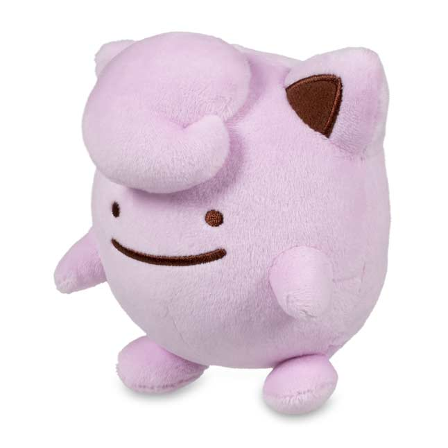 "Image for Ditto As Jigglypuff Poké Plush (Standard) - 5"" from Pokemon Center"