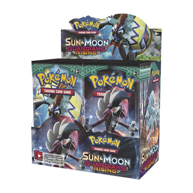 Image for Pokémon TCG: Sun & Moon—Guardians Rising Booster Display (36 Booster Packs) from Pokemon Center