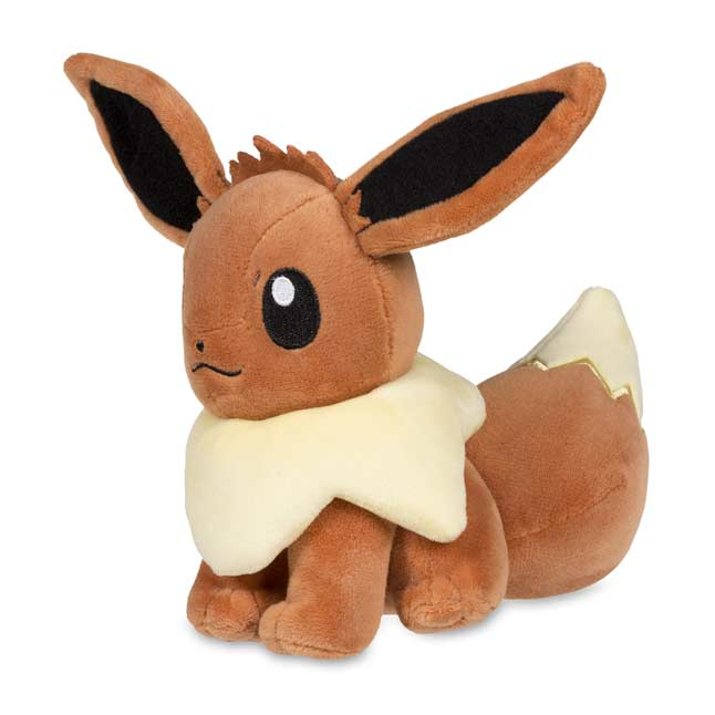 "Image for Eevee Poké Plush (Standard Size) - 6"" from Pokemon Center"