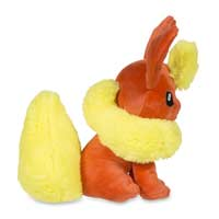Image for Sitting Flareon Poké Plush (Standard Size) - 6 In. from Pokemon Center