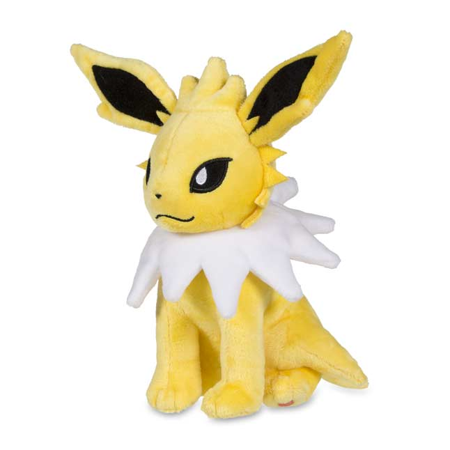 "Image for Sitting Jolteon Poké Plush (Standard Size) - 7 3/4"" from Pokemon Center"