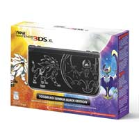 Image for Nintendo 3DS XL: Solgaleo Lunala Black Edition from Pokemon Center