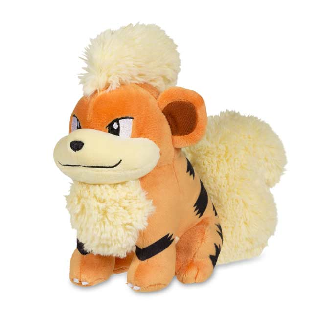 "Image for Growlithe Poké Plush (Standard Size) - 7 1/2"" from Pokemon Center"