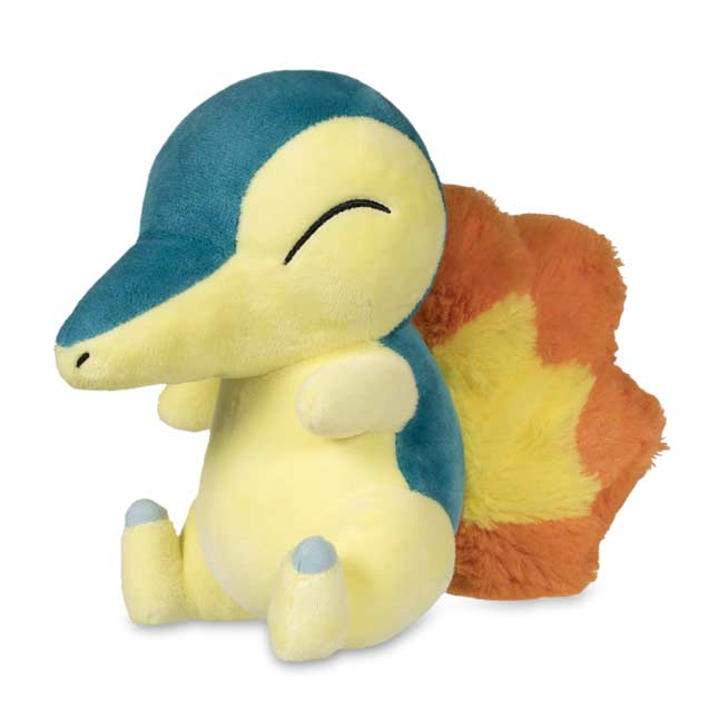 "Image for Cyndaquil Poké Plush (Standard Size) - 7"" from Pokemon Center"