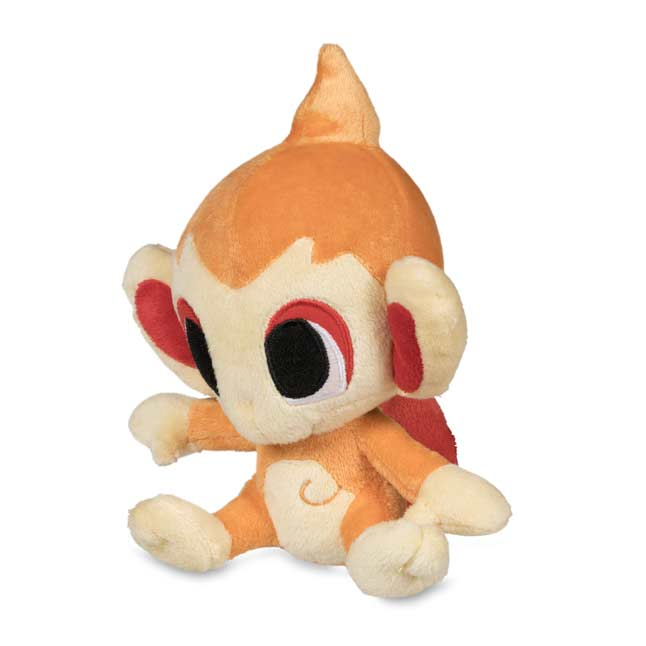 "Image for Chimchar Poké Doll Plush (Standard Size) - 7"" from Pokemon Center"