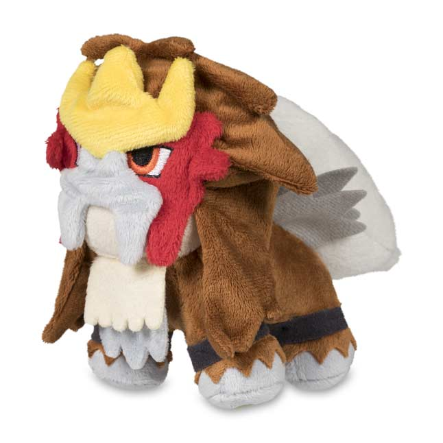 "Image for Entei Poké Doll Plush (Standard Size) - 6"" from Pokemon Center"