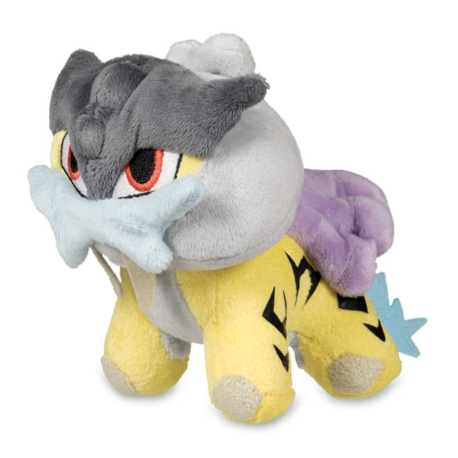 "Image for Raikou Poké Doll Plush (Standard Size) - 7"" from Pokemon Center"