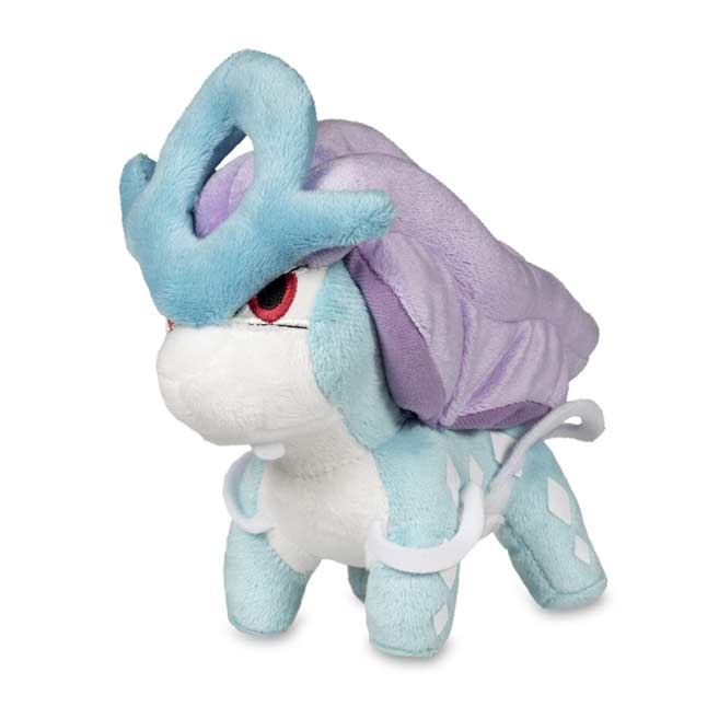 "Image for Suicune Poké Doll Plush (Standard Size) - 7"" from Pokemon Center"