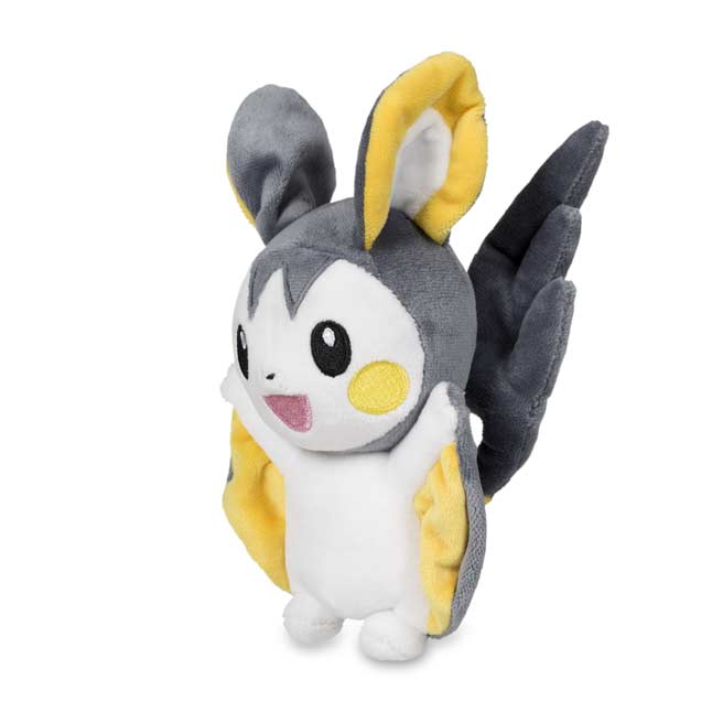"Image for Emolga Poké Plush (Standard Size) - 5 1/2"" from Pokemon Center"