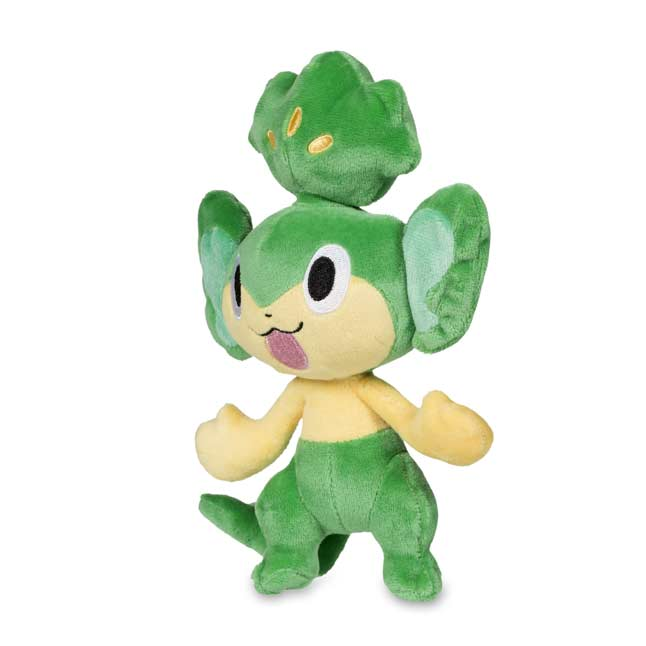 "Image for Pansage Poké Plush (Standard Size) - 8"" from Pokemon Center"