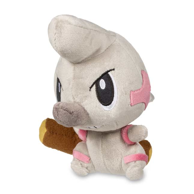 "Image for Timburr Poké Doll Plush (Standard Size) - 6"" from Pokemon Center"