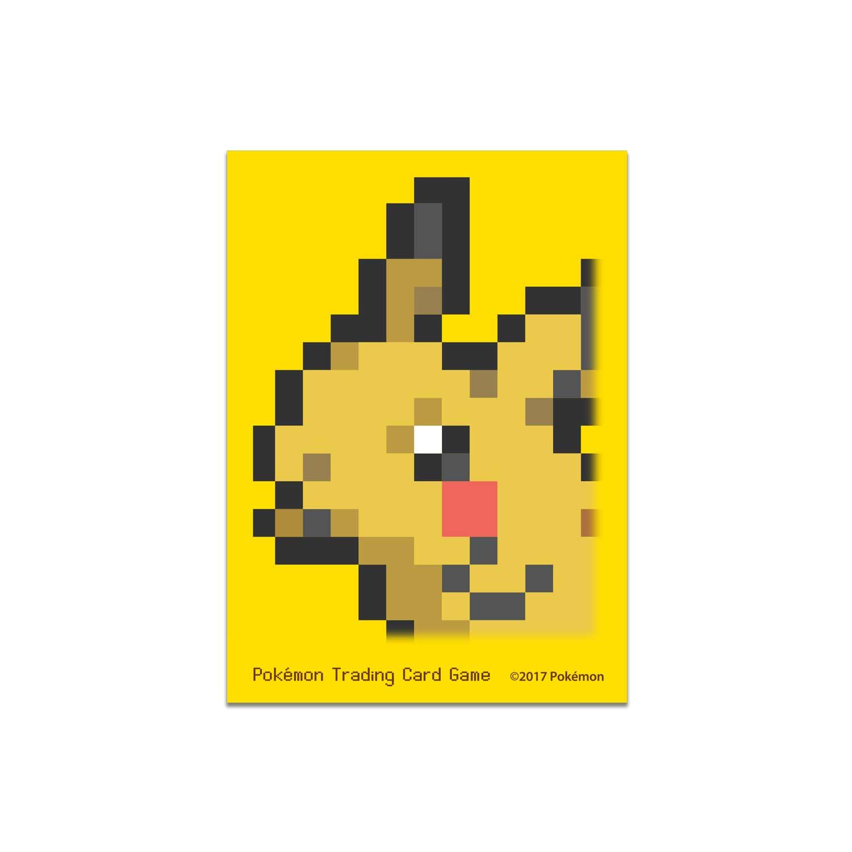 Pokémon Tcg Pikachu Pixel Card Sleeves 65 Sleeves