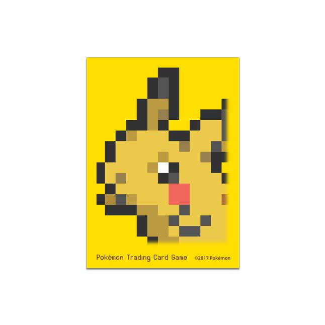 Image for Pokémon TCG: Pikachu Pixel Card Sleeves (65 Sleeves) from Pokemon Center