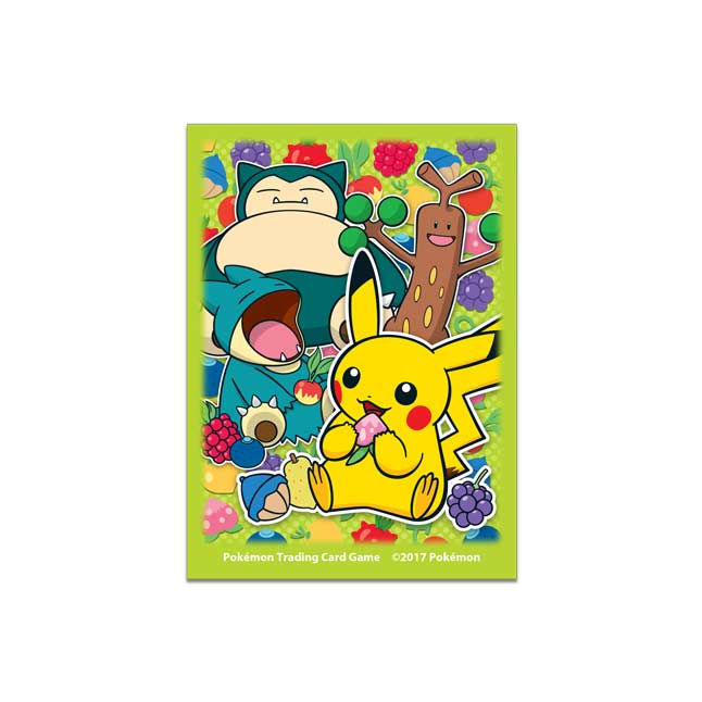 Image for Pokémon TCG: Berry Snorlax Card Sleeves (65 Sleeves) from Pokemon Center