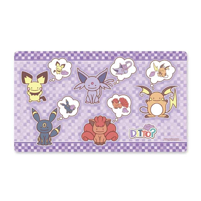 Image for Pokémon TCG: Ditto As Playmat from Pokemon Center