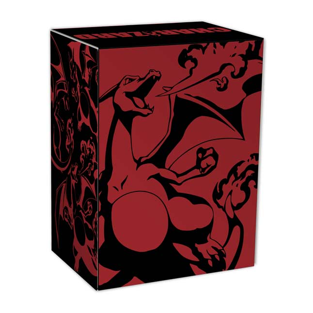 Image for Pokémon TCG: Charizard Deck Box from Pokémon Center