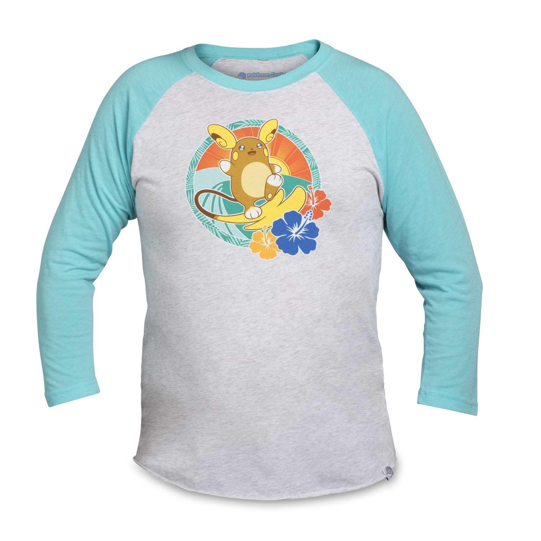 82c3846d Image for Alolan Raichu Raglan Baseball T-Shirt from Pokemon Center