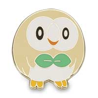 Image for Alolan First Partner Pin Collection (4 Pack with Pikachu, Rowlet, Litten, and Popplio) from Pokemon Center