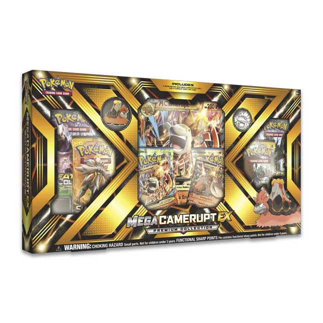 Image for Pokémon TCG: Mega Camerupt-EX Premium Collection from Pokemon Center