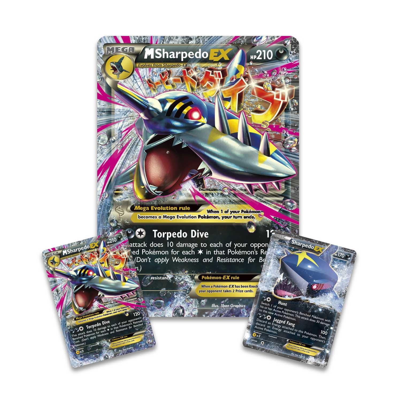 Pokémon Tcg Mega Sharpedo Ex Premium Collection