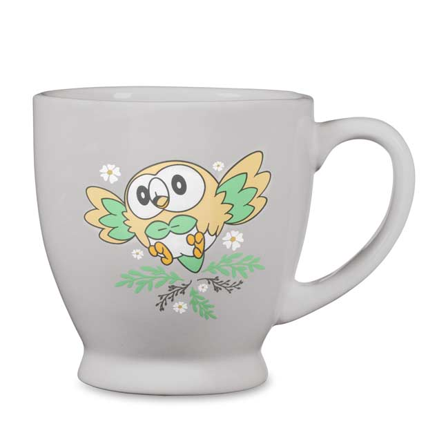 Image for Rowlet Floral Flight Mug from Pokemon Center