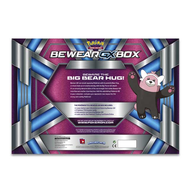 Pokemon TCG Bewear GX Box NEW
