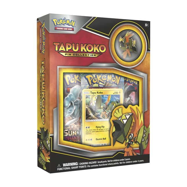 Image for Pokémon TCG: Tapu Koko Pin Box from Pokemon Center