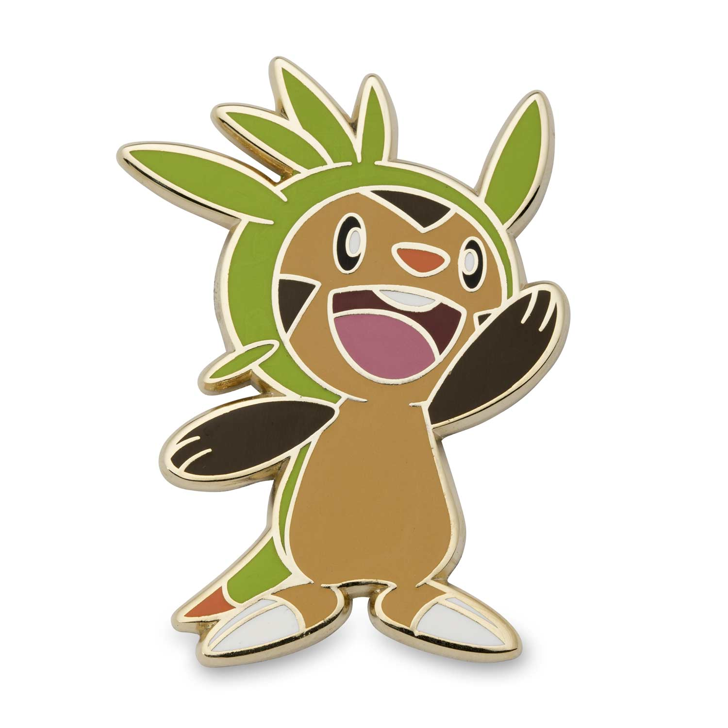 chespin fennekin froakie and pikachu pok233mon pins 4pack