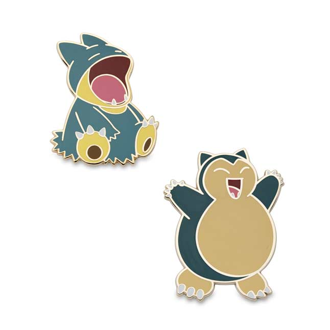 Image for Munchlax and Snorlax Pokémon Pins (2 Pack) from Pokemon Center