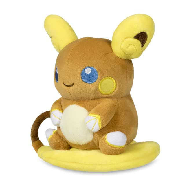 "Image for Alolan Raichu Pokémon Dolls Plush - 6"" from Pokemon Center"