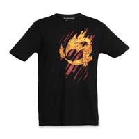 Image for Charizard Firestorm Men's Fitted Crewneck T-Shirt from Pokemon Center