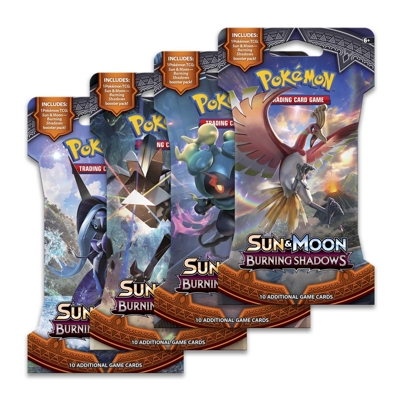 SUN /& MOON BURNING SHADOWS Pokémon