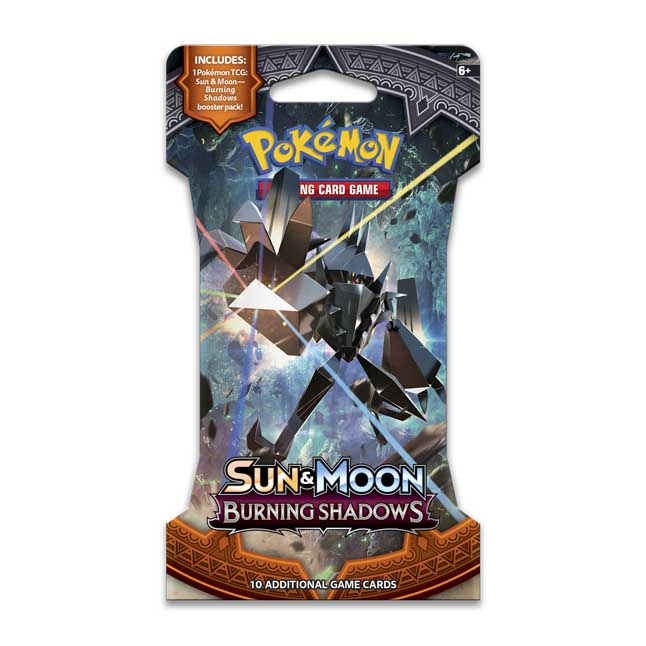 Pokemon TCG Sun and Moon BURNING SHADOWS Booster Pack!