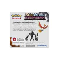 Image for Pokémon TCG: Sun & Moon—Burning Shadows Booster Display (36 Booster Packs) from Pokemon Center