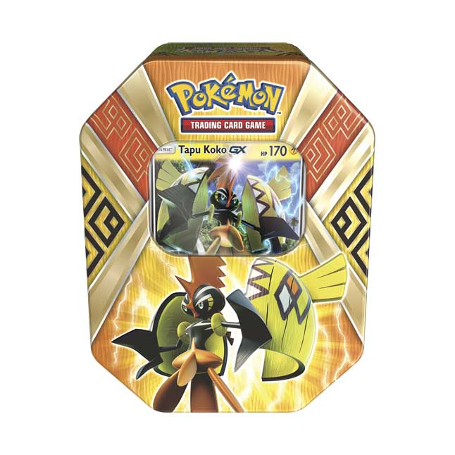 Image for Pokémon Trading Card Game: Island Guardians Tin with Tapu Koko-GX from Pokemon Center