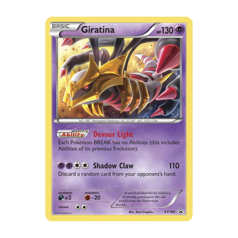 Pokémon TCG: 3 Booster Packs with Bonus Giratina Promo