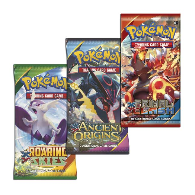 Pokémon TCG: 3 Booster Packs, Coin & Giratina Promo Card 3