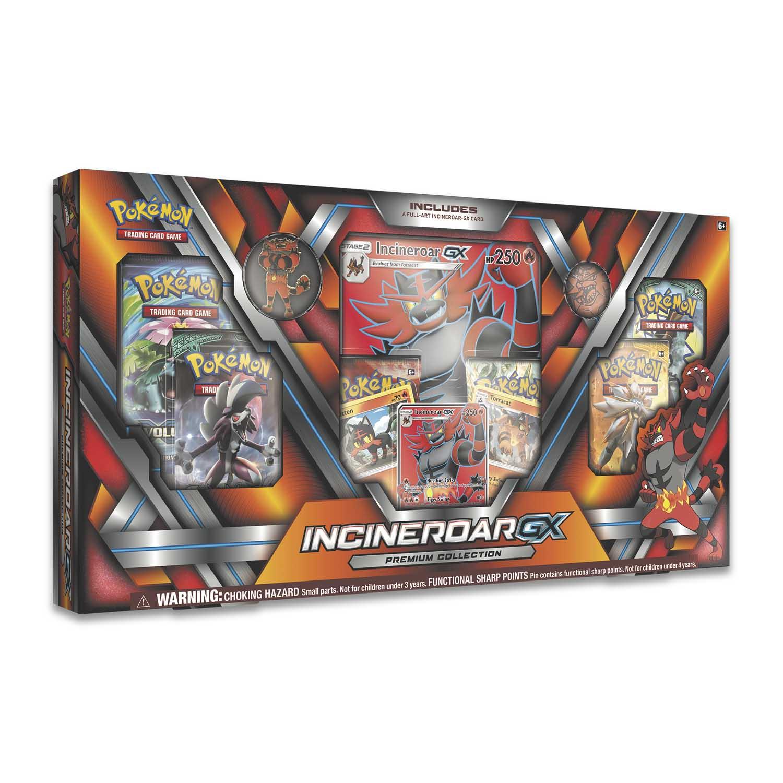 Pokémon Tcg Incineroar Gx Premium Collection