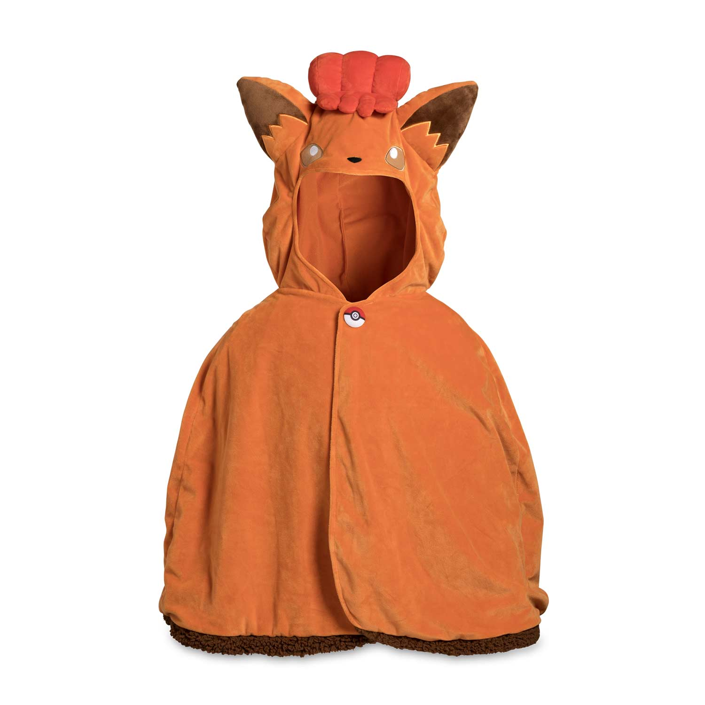 Pokemon Center Original Plush Doll Alola Vulpix Poncho Pikachu 4521329212173