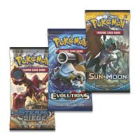 Image for Pokémon TCG: 3 Boosters plus Entei Pin from Pokemon Center