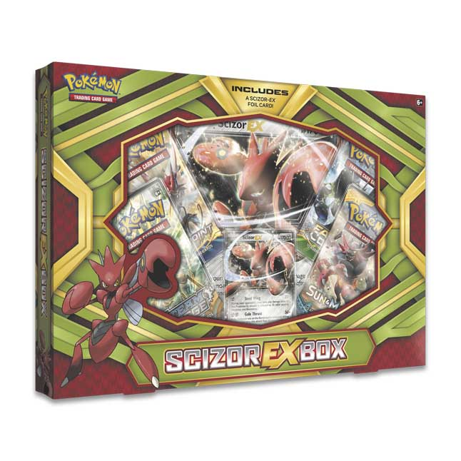 Image for Pokémon TCG: Scizor-EX Box from Pokemon Center