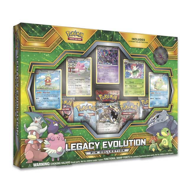 Image for Pokémon TCG: Legacy Evolution Pin Collection from Pokemon Center