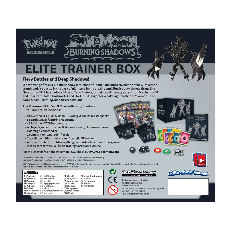 POKEMON TCG online Sun /& Moon Elite Trainer Box CODE CARD Sun
